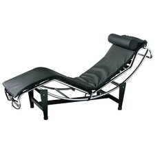 Lounger Chair with Chrome Frame