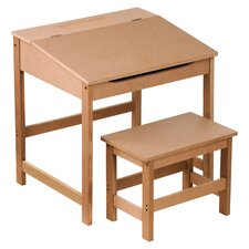 Children's Desk and Stool Set