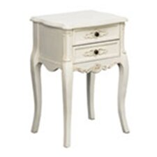 Chateau Chantilly 2 Drawer Bedside Table