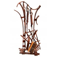 4 Piece Fireplace Companion Set