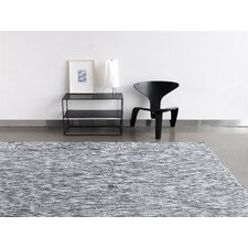 Basketweave Floor Mat Grey Area Rug