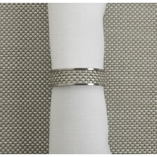 Mini Basketweave Narrow Napkin Ring
