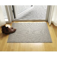 Basketweave Latte Floor Mat
