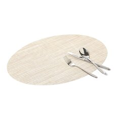 Mini Basketwave Oval Placemat
