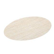 Mini Basketwave Oval Placemat