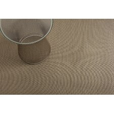 Basketweave Floor Mat Beige Area Rug