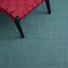 Mini Basketweave Turquoise Rug