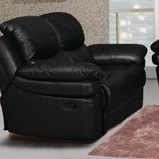 Mt. Adams Leather Reclining Loveseat