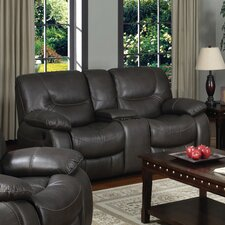 Mt. Garibaldi Leather Reclining Loveseat