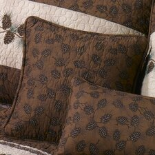 Pine Border Decorative Pillow