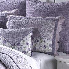 Lavender Rose Cotton King Sham