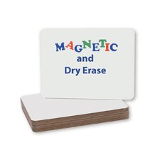 "Magnetic Dry Erase 9"" x 1' Whiteboard (Set of 12)"