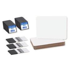 "36 Piece Dry Erase 9.5"" x 1' Whiteboard Set"