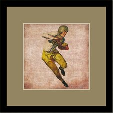 Vintage Football by Butler Custom Framed Wall Art