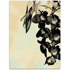 Modern Orchid Blush Panels II James Burghardt Wall Art on Canvas
