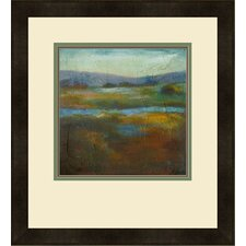 "Modern ""Barons Creek Vista I"" by Combs Giclee Framed Painting Print"