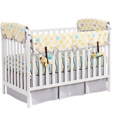 Organic 5 Piece Crib Bedding Set