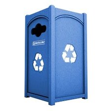 N4P1 Series Side Load Single 26 Gallon Flat Top Recycling