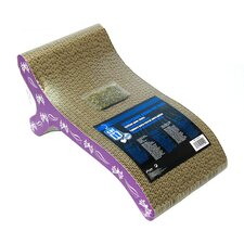 Catit Chaise Cardboard Scratching Board with Catnip