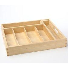 45-Piece Wood Tray Set