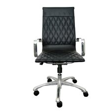 Annie High-Back Executive Office Chair with Arms