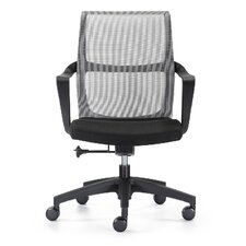 Ravi Mid-Back Mesh Task Chair with Arms
