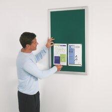 Eco-Friendly Noticeboards - Aluminium Effect Frame