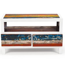 """Cruise Control 40"""" Reclaimed Wood TV Stand"""