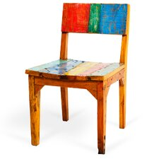 Starboard Reclaimed Wood Side Chair