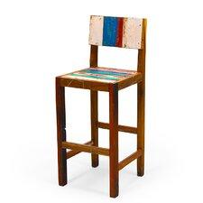 Undertow Reclaimed Wood Bar Chair