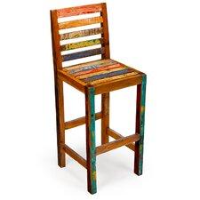 Barefoot Reclaimed Wood Bar Chair