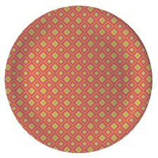 "Gelato 8"" Melamine Diamond Salad Plate (Set of 4)"