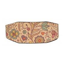 Flowers Lebrel Dog Collar