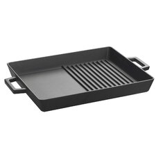"12"" Dual Grill Pan & Griddle"