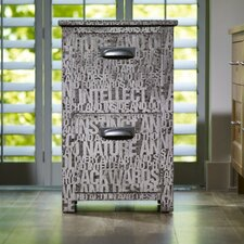 Neutrals Wilfred 2 Drawer Filing Cabinet