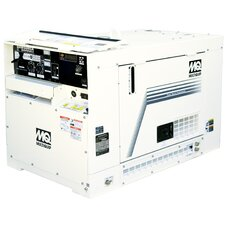 Kubota Diesel (tire 2) DC Generator Welder 500A with Remote Control