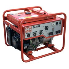 6,000 Watt Honda Portable Gasoline Generator with Electric Start