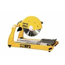 "15 Amp 2.5 HP 115 V 14"" Blade Diameter Dry or Wet Table Saw"