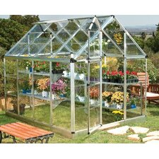 "Snap and Grow 6' 9"" H x 6.0' W x 8.0' D Polycarbonate Greenhouse"