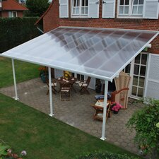 "Feria™ 9'4"" H x 28' W x 13' D Patio Cover Awning"