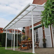 "Feria™ 9'4"" H x 34' W x 13' D Patio Cover Awning"