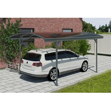 "Vitoria™ 7'10.5"" H x 9'6.5"" W x 16'5"" D Car Port"