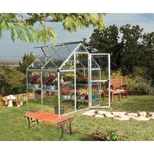 Harmony 6' W x 4' D Aluminum Hobby Greenhouse