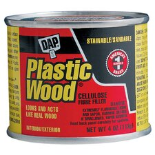 1/4 Golden Oak Wood Dough Filler 21408