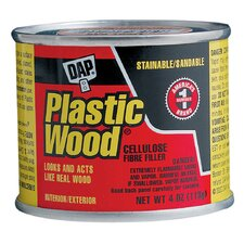<strong>DAP</strong> 4 Oz Plastic Wood Filler 21502