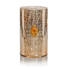 LED Mercury Glass Vase