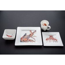 Lobster 4 Piece Place Setting