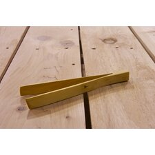Handcrafted Boxwood Flat Tong
