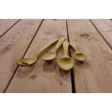 Handcrafted Boxwood Soup, Big German and Bechamel Spoon and Ladle