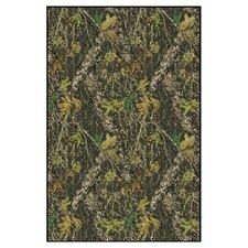 Mossy Oak Breakup Solid Camo Area Rug
